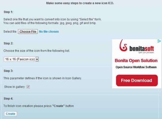 Free Online Icon Generator