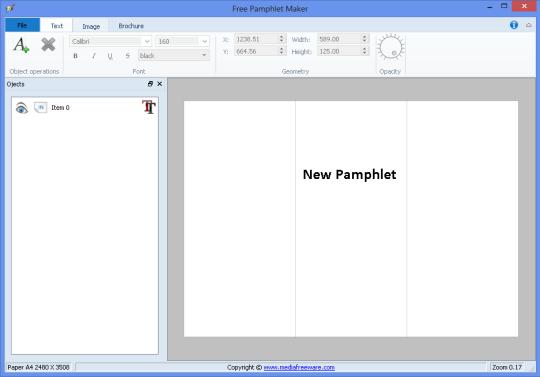 Free Pamphlet Maker