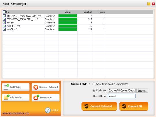 Free PDF Merger