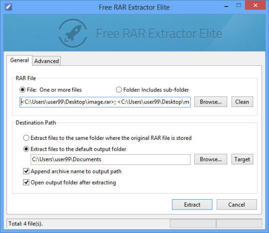 Free RAR Extractor Elite
