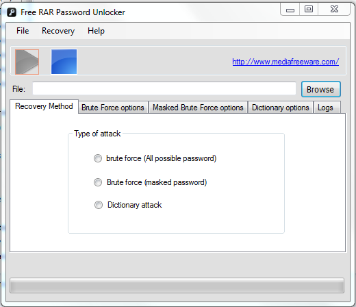 Free RAR Password Unlocker