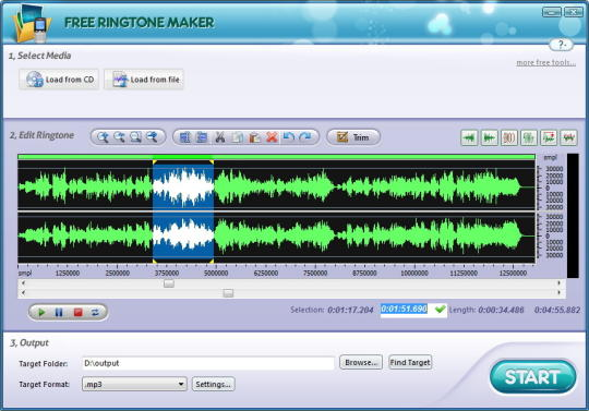 Free Ringtone Maker Platinum