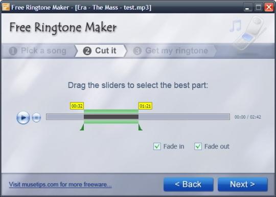 Free Ringtone Maker (Portable)