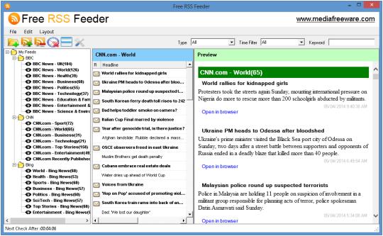 Free RSS Feeder