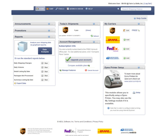 Free Shipping Software - iabol.com