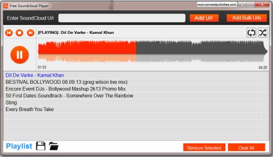 Free SoundCloud Player