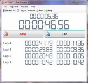 Free Stopwatch Timer
