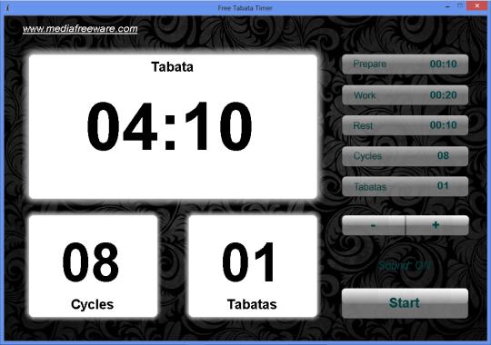 Free Tabata Timer