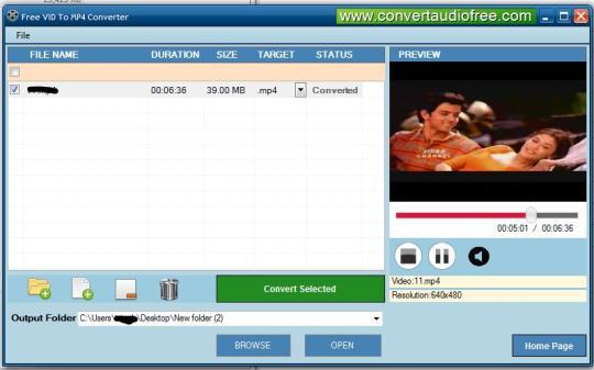 Free VID to MP4 Converter