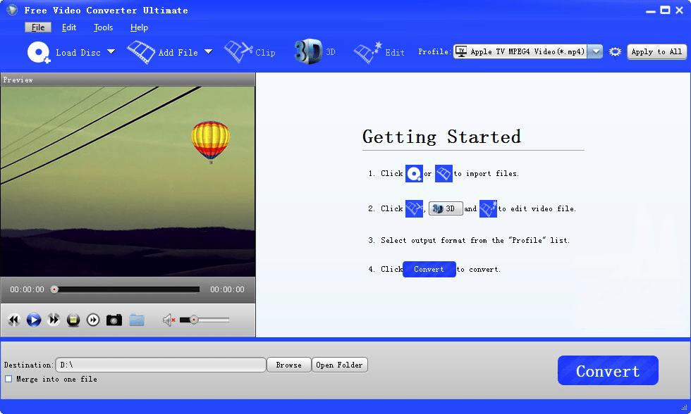 Free Video Converter Ultimate