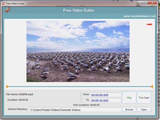 Free Video Cutter