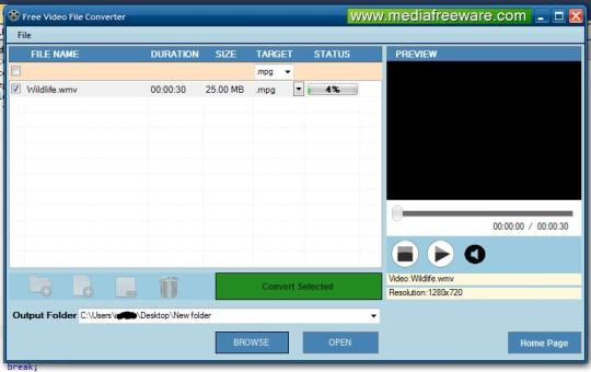 Free Video File Converter