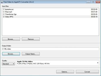 Free Video to Apple TV Converter