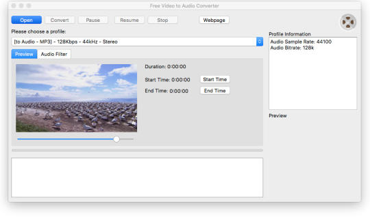 Free Video to Audio Converter for Mac