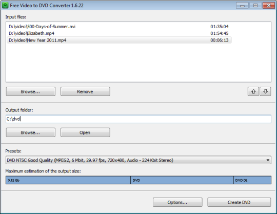 Free Video to DVD Converter