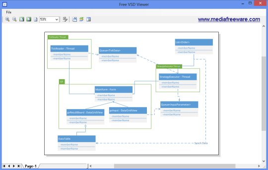 Free VSD Viewer