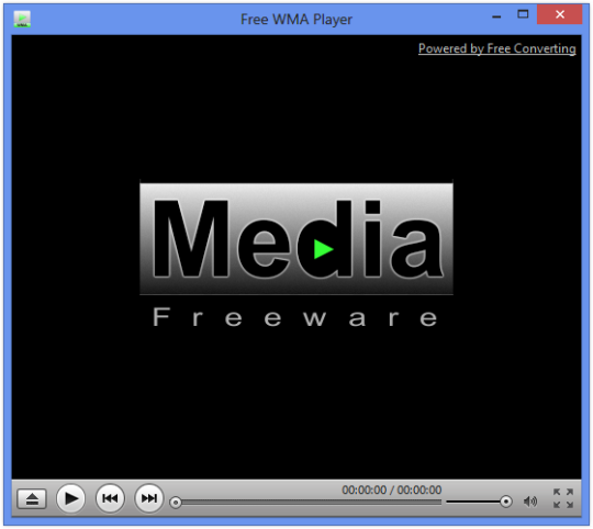 Free WMA Player