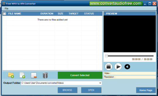 Free WMV to MP4 Converter