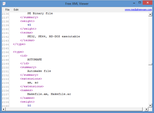 Free XML Viewer