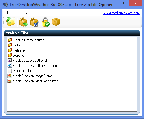 Free Zip File Opener