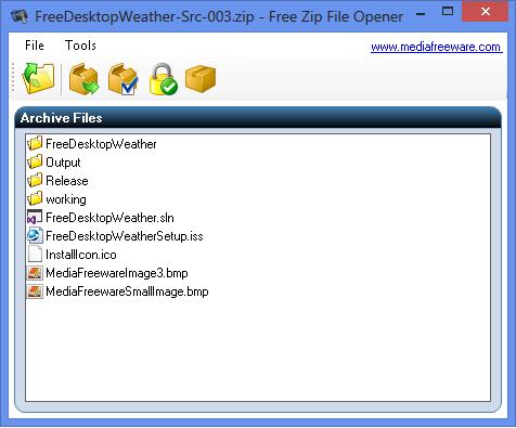 Free Zip Opener