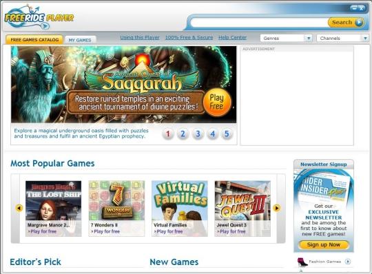 FreeRide Games Player