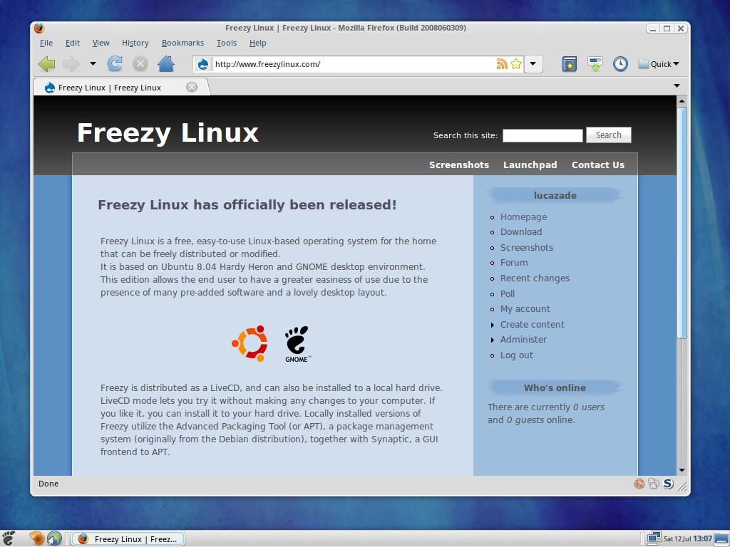 Freezy Linux