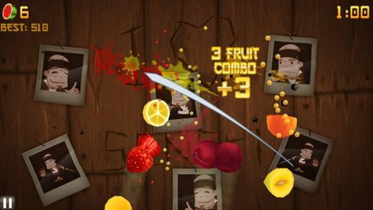 Fruit Ninja for Windows 8