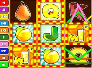 Fruit slot machine game