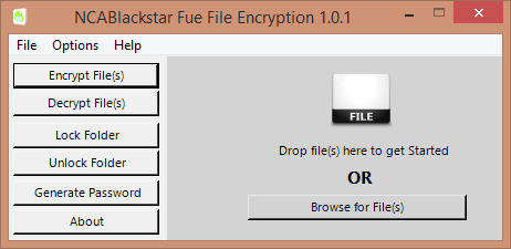 Fue File Encryptor