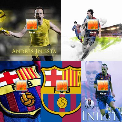 Futbol Club Barcelona Logon Screen