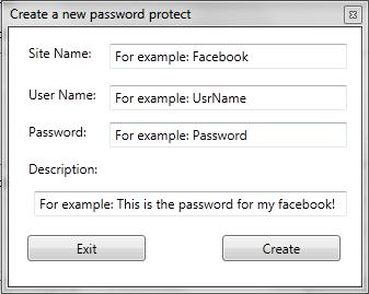 FXS Password Protect