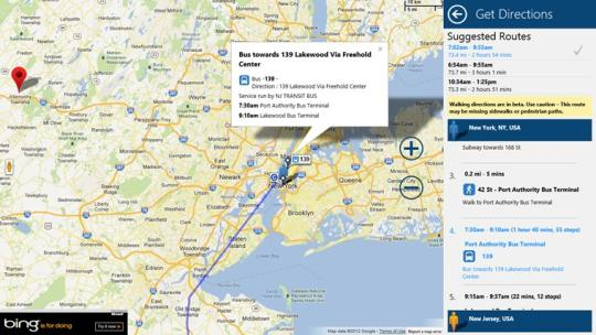 G Maps for Windows 8