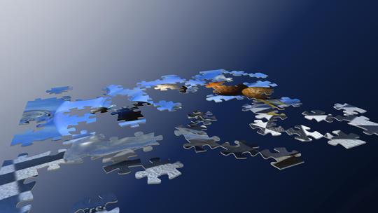 Gaia 3D Jigsaw Puzzle Screensaver