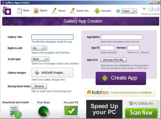Gallery App Creator