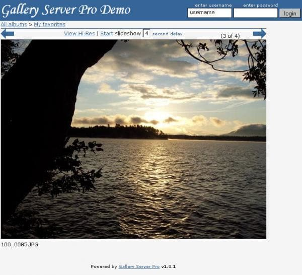 Gallery Server