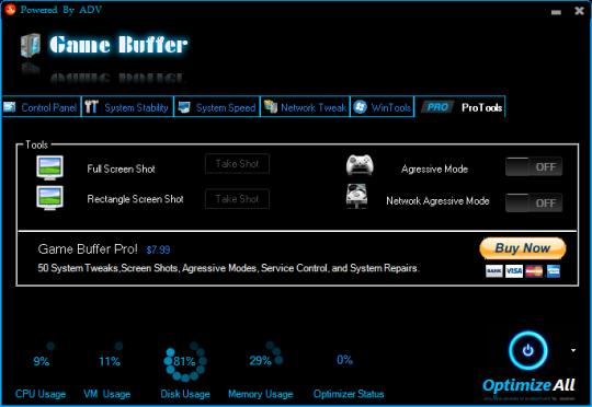 Game Buffer