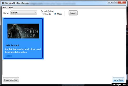 GamingIO Mod Manager