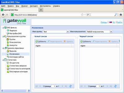 GateWall DNS Filter