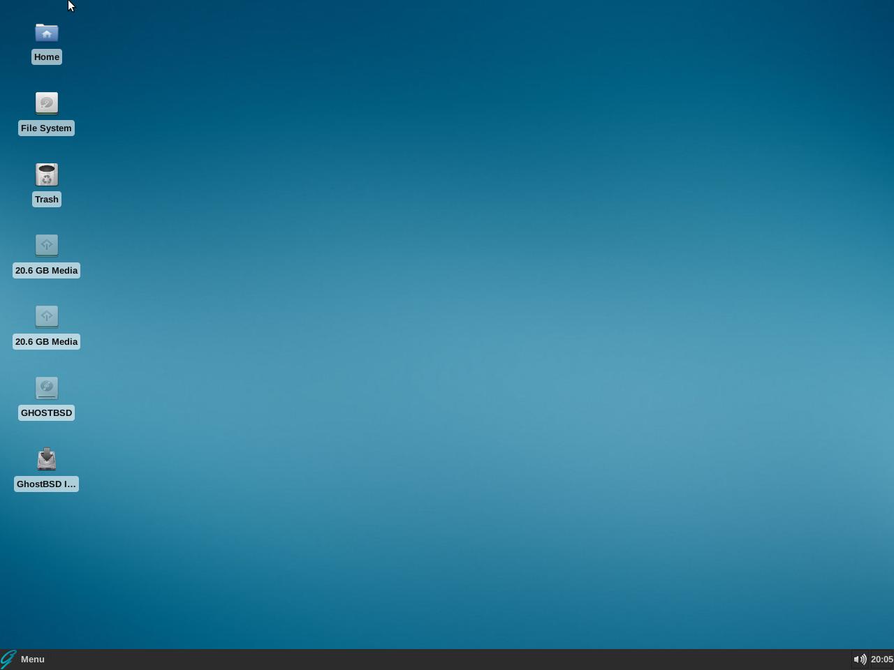 GhostBSD Xfce