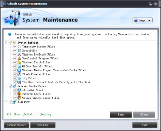 GiliSoft System Maintenance