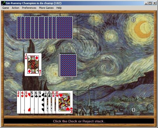 Gin Rummy/Video-Poker