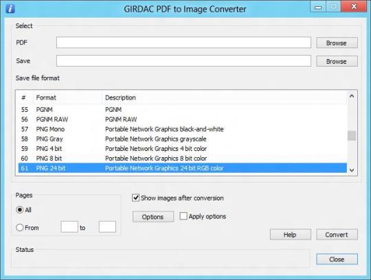GIRDAC PDF to Image Converter