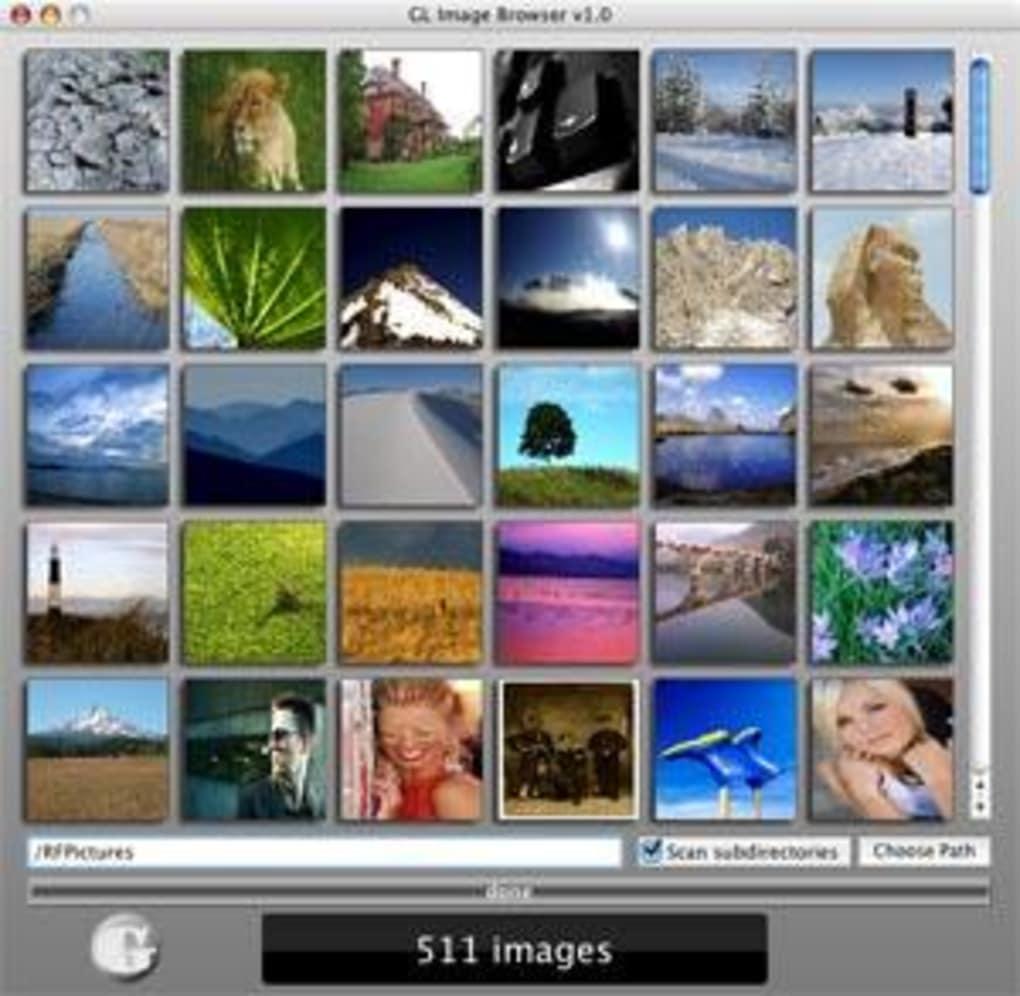 GL Image Browser