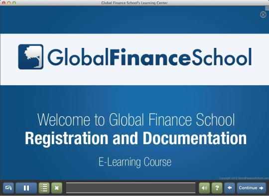 Global Finance School Learning Center