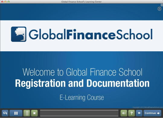 Global Finance School Learning Center