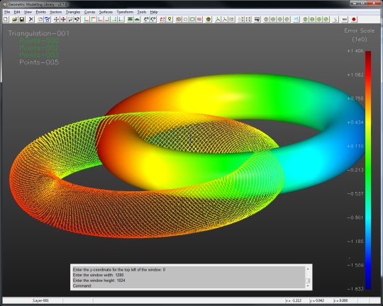 GML (Geometric Modelling Library)