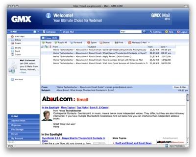 GMX Webmail