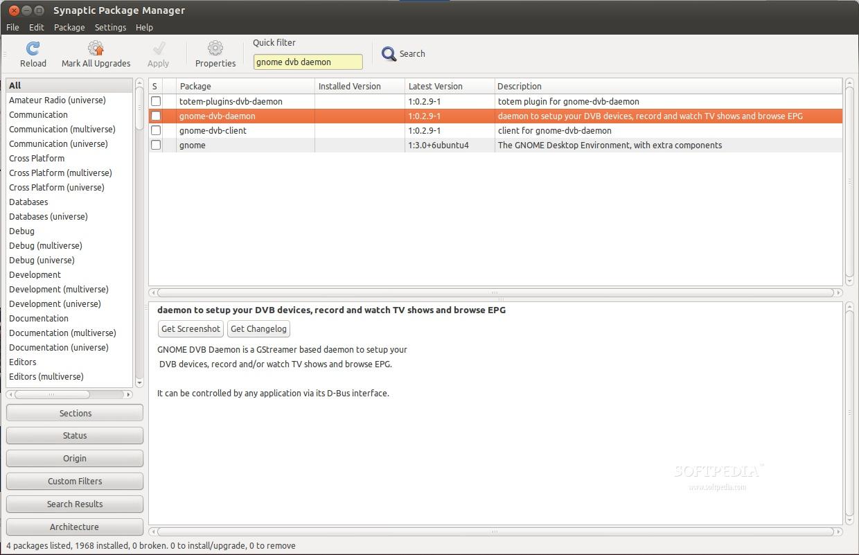 GNOME DVB Daemon