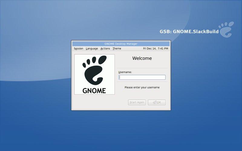 GNOME SlackBuild